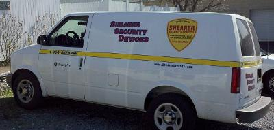 One of our 12 service vehicles