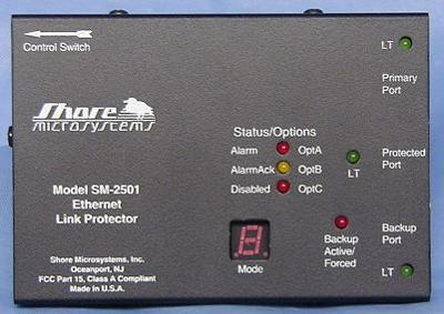 SM 2501P POE Powered Ethernet Redundancy